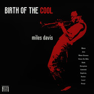 Miles Davis - Birth Of The Cool Red Vinyl Edition