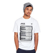 101 Apparel - Jazz Piano T-Shirt
