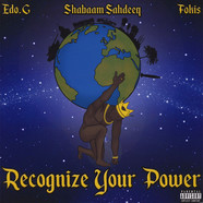 Edo.G, Shabaam Sahdeeq & Fokis - Recognize Your Power EP Colored Vinyl Edition