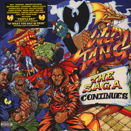 Wu-Tang Clan - The Saga Continues Black Vinyl Edition
