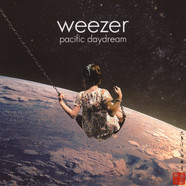 Weezer - Pacific Daydream Red With Black Splatter Vinyl Edition