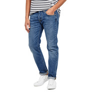 Edwin - ED-55 Regular Tapered Jeans Kingston Blue Denim, Cotton, 12oz