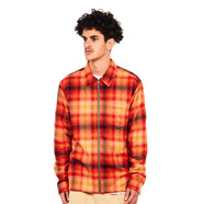 Stüssy - Zip Up Crepe Plaid LS Shirt