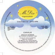 Charlie - Spacer Woman Transparent Vinyl Edition