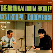 Gene Krupa & Buddy Rich - The Original Drum Battle!