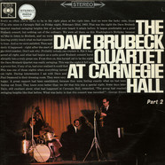 Dave Brubeck Quartet, The - At Carnegie Hall  Part 2