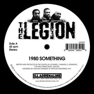 Legion, The - 1980 Something / Heard We Quit Black Vinyl