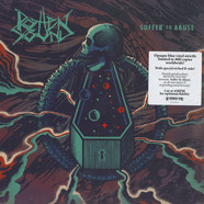 Rotten Sound - Suffer To Abuse Blue Vinyl Edition