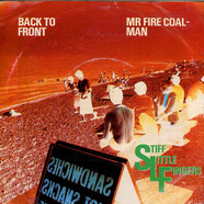 Stiff Little Fingers - Back To Front / Mr Fire Coal-Man
