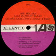 The Modern Jazz Quartet - The Modern Jazz Quartet Plays George Gershwin's Porgy & Bess