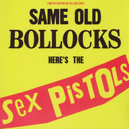 Sex Pistols - Same Old Bollocks Yellow Vinyl Edition