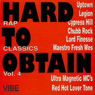 V.A. - Hard To Obtain Rap Classics Vol. 4