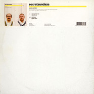 Holy Ghost Inc. / Afefe Iku - Secretsundaze Volume 2 Album Sampler B
