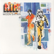 Air - Moon Safari 20th Anniversary Glow In The Dark Vinyl Edition