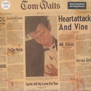 Tom Waits - Heartattack And Vine Remastered Clear Vinyl Edition