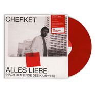 Chefket - Alles Liebe (Nach Dem Ende Des Kampfes) HHV Exclusive Limited Red Vinyl Edition