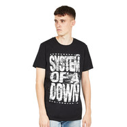 System Of A Down - Distressed Logo T-Shirt