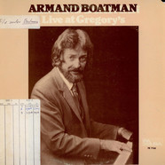 Armand Boatman - Live At Gregory's