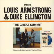 Louis Armstrong & Duke Ellington - The Great Summit Transparent Blue Vinyl Edition