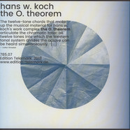 Hans W. Koch - The O. Theorem