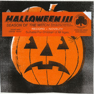 John Carpenter & Alan Howarth - OST Halloween III Original Score Witch Mask US Version Cloudy Clear/Black Vinyl Edition