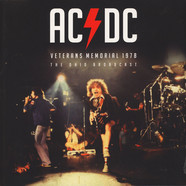 AC/DC - Veterans Memorial 1978 Red Vinyl Edition