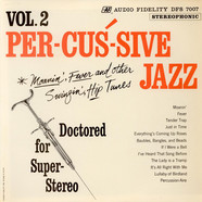 Sid Cooper And Orchestra - Percussive Jazz Vol. 2