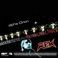 R.E.K. - Alpha Orion & R.E.K. 1 Black Colored Vinyl Edition