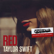 Taylor Swift - Red Crystal Clear Vinyl Edition
