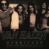Van Halen - Hurricane - Maryland Broadcast 1982 2.0 Black Vinyl Edition