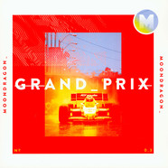Moondragon - Grand Prix Ultraclear Vinyl Edition W/ Red & White Splatter