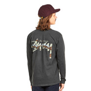 Stüssy - Camo Stock Pigment Dyed Pocket LS Tee