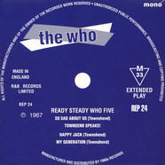 Who, The - Ready Steady Who Five