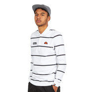 ellesse - Maffio Long Sleeve Stripe Polo