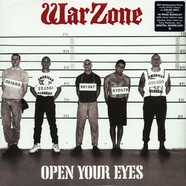 Warzone - Open Your Eyes Colored Vinyl Edition
