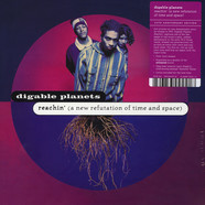 Digable Planets - Reachin' (A New Refutation Of Time And Space) - 25th Anniversary Blue & Lavender Vinyl Edition