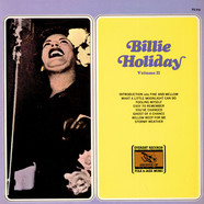 Billie Holiday - Billie Holiday Volume II
