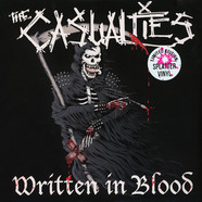 Casualties, The - Written In Blood Splattered Vinyl Edition