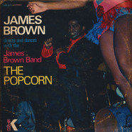 James Brown Directs And Dances With The The James Brown Band - The Popcorn