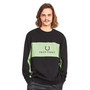 Fred Perry - Panel Piped Sweatshirt
