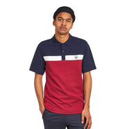Fred Perry - Contrast Panel Pique Shirt