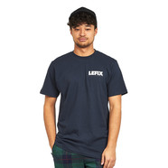 Le Fix - Blury Letters Chest Tee