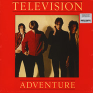 Television - Adventure Red Vinyl Edition