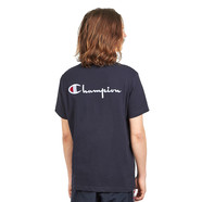 Champion Reverse Weave - Back Embroidery Crewneck Tee