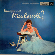 Barbara Carroll Trio - Have You Met Miss Carroll?