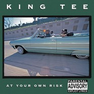 King Tee - At Your Own Risk Black Vinyl Edition