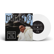 Milano Constantine - Rep For The Slums / My Niggaz White Vinyl Edition