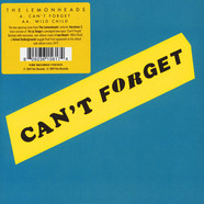 Lemonheads, The - Can't Forget / Wild Child Record Store Day 2019 Edition