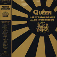 Queen - Happy And Glorious - All The Hits From Tokyo Inca Gold Vinyl Edition