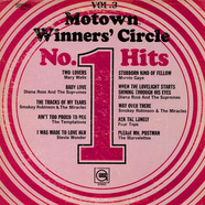 V.A. - Motown Winners' Circle - No. 1 Hits, Volume 3